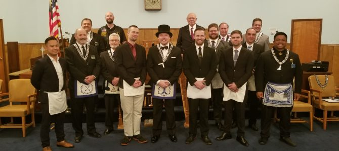 Kirkland Lodge #150, Courtesy FCM Degree | Joshua Jongema
