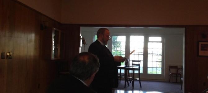 Mercer Island Lodge #297, Stated Meeting
