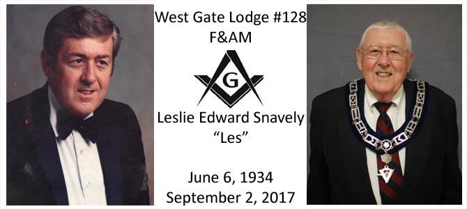 "Celestial Lodge – WB Leslie ""Les"" Snavely"