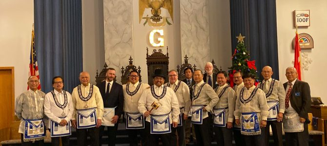 Stated Meeting and Installation – November 20, 2019